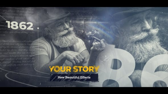 History Slideshow And Timeline 33897931 - After Effects Project Files
