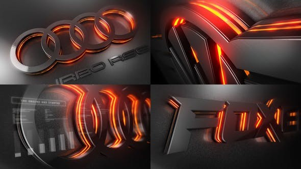 Car Logo Reveal 33394839 - After Effects Project Files